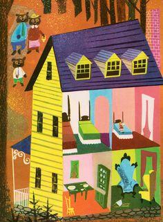 The Big Book of Nursery Tales - illustrated by Leonard Weisgard