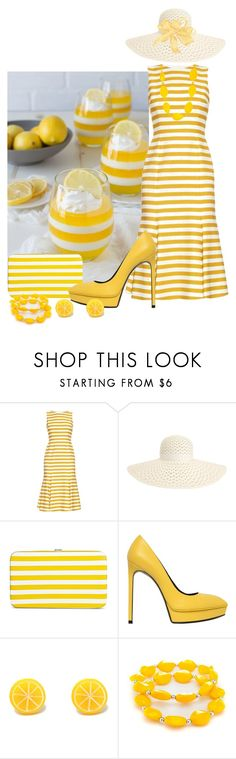 """""""2nd Birthday Series 2/5 ~ Jelly... Yellow"""" by maryv-1 ❤ liked on Polyvore featuring Dolce&Gabbana, Inverni, Merona, Yves Saint Laurent and Kim Rogers"""