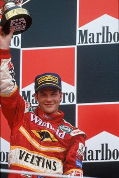 World Champion Jacques Villeneuve (Williams-Mecachrome) finished for the second race in succession. This would be JV's last podium until the 2001 Spanish GP. Blood Of Heroes, Gilles Villeneuve, F1 Drivers, F 1, Formula One, First World, Hungary, Grand Prix, Race Cars