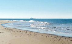 Playa de Camposoto y Castillo de Sancti Petri, San Fernando, Cádiz