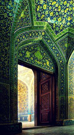 Sheikh Lotfollah Mosque, Safavid Iran.