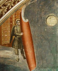 Last Judgment (detail) 1306 Fresco Cappella Scrovegni (Arena Chapel), Padua