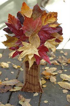 nature craft, autumn tree