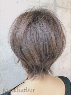 大人かわいい耳かけくびれショートボブ:L076658194|ジーナハーバー(JEANA HARBOR)のヘアカタログ|ホットペッパービューティー Cut And Style, Hair Cuts, Hair Beauty, Hairstyle, Long Hair Styles, Pixies, Makeup, Color, Fashion