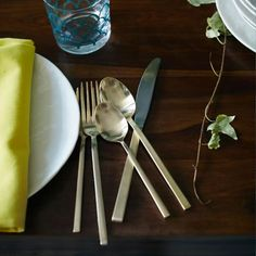 The Top 5 Places For Gold Flatware - West Elm