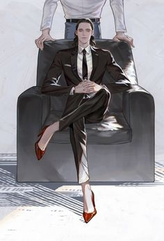 Thor x Loki 2 - Thorki>o< Marvel 3, Marvel Memes, Thor Y Loki, Loki Art, Loki Laufeyson, Manga, Boy Illustration, Illustrations, Handsome Anime Guys