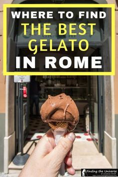 Looking for the best gelato in Rome? This guide has you covered, with options across the city, including where to find the best gelato near the Pantheon, the Spanish Steps and more! #travel #food #italy #rome