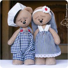 Купить Зайка и Мишка морские - зайка, зайка девочка, зайка игрушка, зайка в…