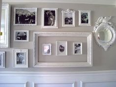 [Frame Fanatic]: [Frame Friday: Gallery Wall by Dream Book Design]