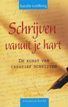 Schrijven vanuit je hart, mijn eerste boek over de kunst van het creatief schrijven. Cadeautje van Ilse Annegarn.