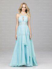 nice light turquoise prom dress