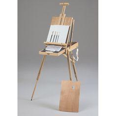 Martin Universal Design Portable Rivera Sketch Box en Easel Acrylic Painting Kit, Grey