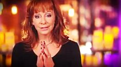 """Sadly, the world we live in is one of war and violence, and there is really only one thing we can do--pray. And super star Reba McEntire's new song """"Pray for Peace"""" is my new anthem! AMEN."""