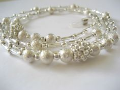 Silver stardust beaded glasses chain. Over 100 styles in stock.
