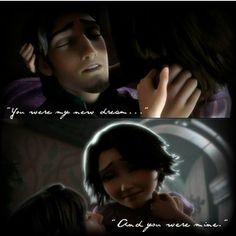 Tangled: best love story ever. I don't care if it was a cartoon