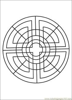 Free Printable Mandala Coloring Pages | Free Printable Coloring Page Mandalas 08 Cartoons >
