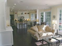 Kitchen family rooms