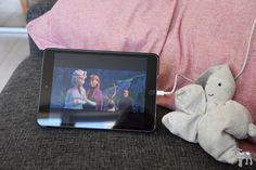 watching Frozen on Netflix