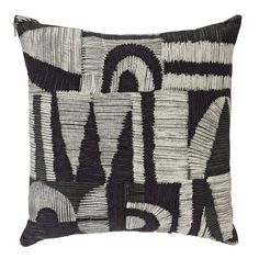 Buy Argos Home Kanso Crewel Cushion - Monochrome at Argos. Thousands of products for same day delivery or fast store collection. Checked Cushions, Plain Cushions, Yellow Cushions, Printed Cushions, Velvet Cushions, Scatter Cushions, Outdoor Cushions, Cushions On Sofa, Throw Pillows