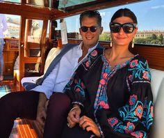 Giovanna Battaglia: With my cool boss Stefano Tonchi at last day of my Venice art week ⋆ TwittoSpia B Fashion, Folk Fashion, Ethnic Fashion, Anna Dello Russo, Giovanna Battaglia, Cool Boss, Estilo Folk, Leandra Medine, Estilo Popular