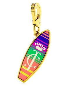 juicy/Surfboard Charm