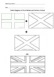 union jack coloring page - union jack history coloring page from united kingdom