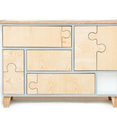 Puzzle Storage by Seed Furniture – FleaPop – Buy and sell home decor, furniture and antiques