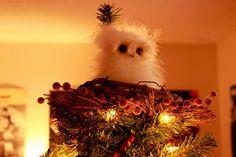 Miss Mash DIY: Owl Christmas Tree Topper