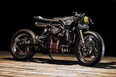 Honda 500 CX Sport par Ed Turner   Decibel Moto