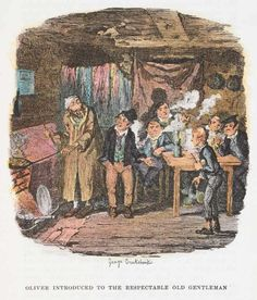 """OLIVER TWIST by Charles Dickens. With the classic illustrations by George Cruikshank (""""the modern Hogarth""""). http://www.amazon.co.uk/Oliver-Twist-illustrated-Charles-Dickens-ebook/dp/B00UTRF4DM/ref=sr_1_1?s=digital-text&ie=UTF8&qid=1426680022&sr=1-1&keywords=Oliver+Twist+%28illustrated%29"""