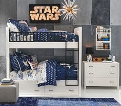 Pottery Barn Kids Star Wars Millennium Falcon Bed Quilted Pillow Sham Standard