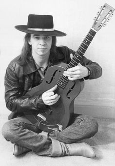 "rock-and-roll-is-the-devils-work: "" Stevie Ray Vaughan One of the greats "" Stevie Ray Vaughan Guitar, Steve Ray Vaughan, Jimmie Vaughan, Eric Clapton, Dallas, Blues Artists, Blues Rock, Music Photo, Jimi Hendrix"