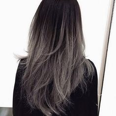 Can I have hair like this please? #greyombre #silverombre #amazinghair