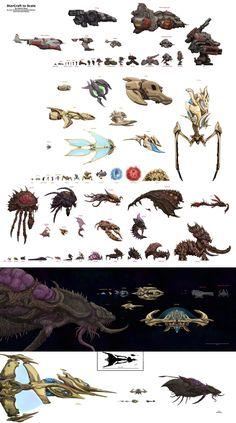 StarCraft to Scale by xiaorobear.deviantart.com on @DeviantArt