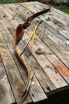 Archery Bow Vintage Herters International match by PodunkHollow