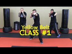 Beginner Krav Maga - Yellow Belt/Level 1 - Class #1 (Warm Up, Follow Along Drills) - YouTube