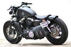 harley davidson sportster forty eight dark custom 2013 #bikes #motorbikes #motorcycles #motos #motocicletas
