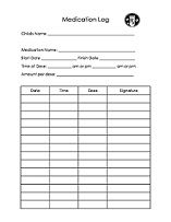 Daycare sign in sign out sheet easy way to keep track of for Medication signing sheet template