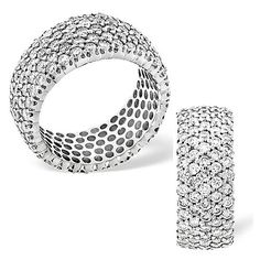 The super Seine fully set eternity ring, possessing of round brilliant diamonds. Eternity Ring, Our Love, Precious Metals, Diamonds, Jewels, Jewellery, My Style, Rings, Fashion