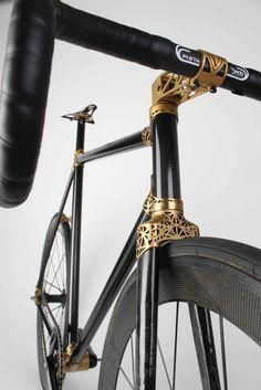 VORWaeRTZ carbon Bikes with 3d printed lugs