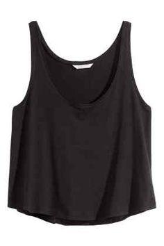 Camiseta corta de tirantes