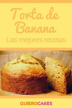 Torta de banana ¡Tienes que hacer alguna de estas recetas! #tortadebanana #quiero #quierocakesblog Sweet Recipes, Banana Bread, Sandwiches, Cheesecake, Food And Drink, Cupcakes, Favorite Recipes, Cookies, Eat