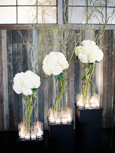 Hydrangea Wedding Centerpieces/Decor