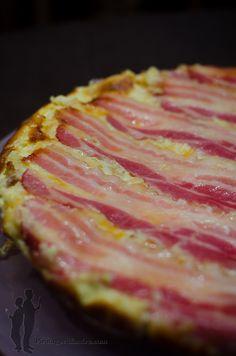 Quiche tatin aux pommes de terre et au bacon | Piratage Culinaire