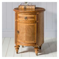 Drum Table Shabby Chic Bedroom Furniture, Shabby Chic Bedrooms, Hudson Furniture, Living Furniture, French Bedside Tables, Walnut Furniture, French Furniture, Drum Table, Table Lamp