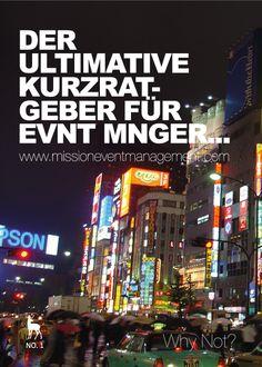 Operatives Event Management - Der ultimative Kurzratgeber für Event Manager, www.missioneventmanagement.com
