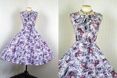 50's sun dress