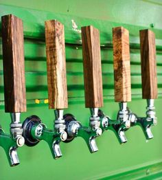 Standard Tap Handle  | Warm, modern, asymmetrical tap handle with standard faucet siz... | Beer Taps
