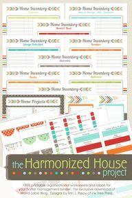 Inventory Organizing Control: The Harmonized House Project | Worldlabel Blog
