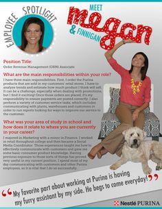 Meet Megan! #ORM #Spotlight #PetsatWork #Purina